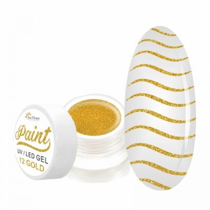 Paint Gel Kolor - Gold 12