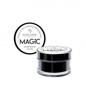 "AkryloŻel UV/LED Żel Budujący ""MAGIC"" - Snow White 50G"