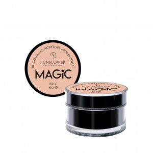 "AkryloŻel UV/LED Żel Budujący ""MAGIC"" - Beige  15g"