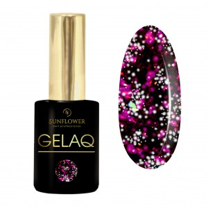 GELAQ Top Flakes No. 112 Zimna Purpura Galaxy