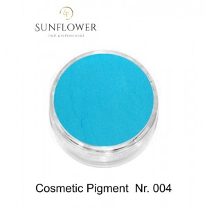 Cosmetic Pigment  CP004 Blue Neon Smokey Effect !