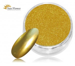 Mirror Effect Gold - Złoty Efekt Lustra - 1,25ml
