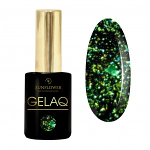 GELAQ Top Flakes No. 114 Zielony Galaxy