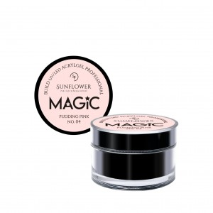 "AkryloŻel UV/LED Żel Budujący ""MAGIC"" - Pudding Pink  50g"
