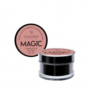 "AkryloŻel UV/LED Żel Budujący ""MAGIC"" - Camouflage Natural  50g"