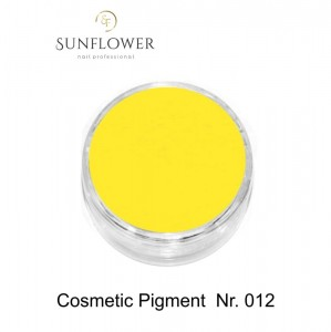 Cosmetic Pigment  CP012 Yellow  Smokey Effect !