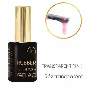 GELAQ Base Rubber 9g Transparent Pink