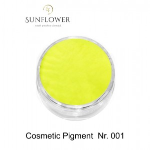 Cosmetic Pigment  CP001 Yellow Neon Smokey Effect !